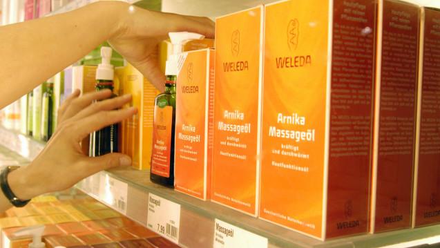 Der Naturkosmetik-Hersteller Weleda konnte seinen Gesamterlös 2017 um 2,8 Prozent steigern. (Foto: Imago)