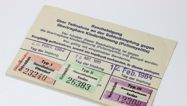 Der Polio-Monoimpfstoff IPV-Merieux ist derzeit nicht lieferbar. Das teilte das Paul-Ehrlich-Institut mit. Als Alternative soll auf Kombinationsimpfstoffe zurückgegriffen werden. Doch auch die sind nur eingeschränkt verfügbar oder, wie die Fünf- und Sechsfachimpfstoffe mit Poliokomponente, nicht für Erwachsene oder ältere Kinder geeignet.(Foto:Björn Wylezich / Fotolia)