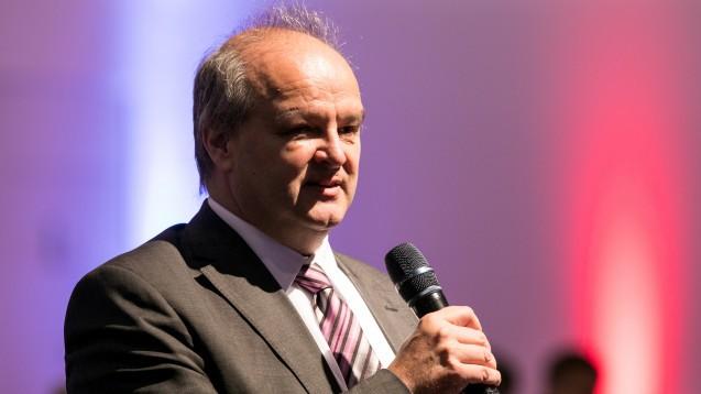 Dr. Peter Froese - hier beim Deutschen Apothekertag 2019 - widerspricht dem Gerücht, die Apotheker seien Gewinner der Pandemie. (Foto: Schelbert)