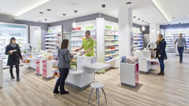 """Rund 2.100 Apotheken gehören nach Aussage des Stuttgarter Großhändlers Gehe zur hauseigenen Kooperation """"gesund leben"""". (Foto: Christian Nielinger/www.nielinger.de)"""