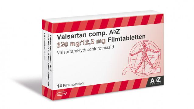 Auch AbZ ruft seine Valsartan-Produkte zurück. (m / Packshot: AbZ Pharma)