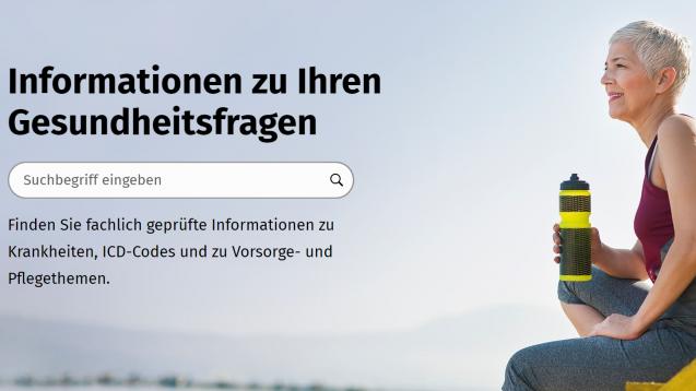 Das BMG als Betreiber des Nationalen Gesundheitsportals steht weiterhin in der Kritik. (Screenshot: gesund.bund.de)