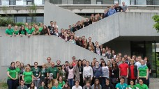 Die Delegierten der Pharmazie-Fachschaften trafen sich am Wochenende in Tübingen. (Bild: BPhD)