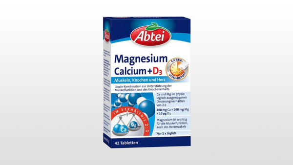 Rückruf von Abtei-Tabletten mit Magnesium und Calcium