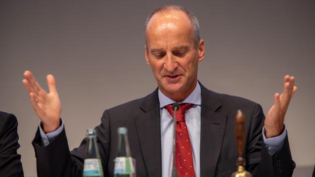 """Die Lage ist unzumutbar. Das findet der ABDA-Präsident Friedemann Schmidt mit Blick auf die Arzneimittel-Lieferengpässe. In der MDR-Sendung """"Hauptsache Gesund"""" äußerte er sich ausführlich. (m / Foto: Schelbert)"""