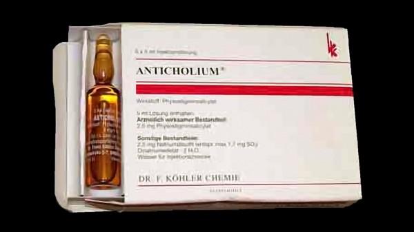 Anticholium: nicht mehr in den Muskel