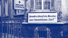 Ambulanz Leipzig Eutrizsch, 1980. (Sieghard Liebe, Stadtgeschichtliches Museum Leipzig)