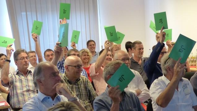 Die Abstimmung über den Haushalt stand ebenfalls auf der Tagesordnung der Mitgliederversammlung des LAV Baden-Württemberg. (Foto: LAV)
