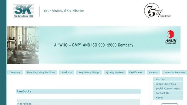 Wirkstoffhersteller Anuh Pharma, Mumbai: Französische Arzneimittelkontrolleure stießen auf Originaldokumente in einem Schutthaufen. (Screenshot: DAZ.online)