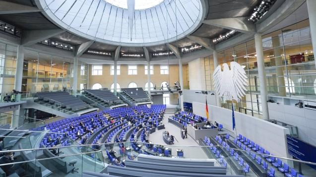 Der Bundestag hat am heutigen Donnerstag das Digitale-Versorgung-und-Pflege-Modernisierungsgesetz (DVPMG) verabschiedet. (Foto: IMAGO / Political-Moments)