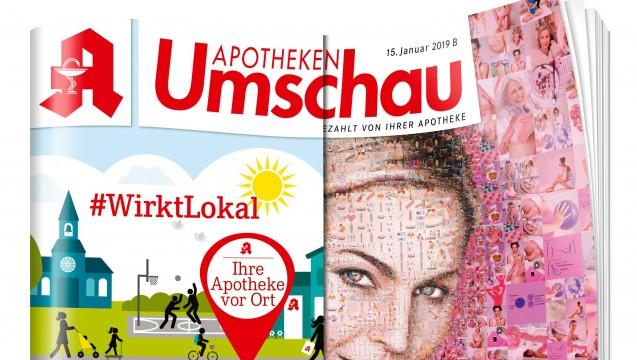 """Die  """"Apotheken Umschau"""" will mit ihrer neuen Kampagne offensiv für die vielen Leistungen der Apotheken vor Ort werden. ( r / Foto:  Wort & Bild)"""