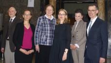 Referenten beim Eppendorfer Dialog, von links: Dr. Rainer Höhl, Ute Leonhardt, Prof. Dr. Karin Kraft, Prof. Dr. Alena Buyx, Gitta Connemann, Prof. Dr. Achim Jockwig (Moderator). ( r / Foto: tmb)