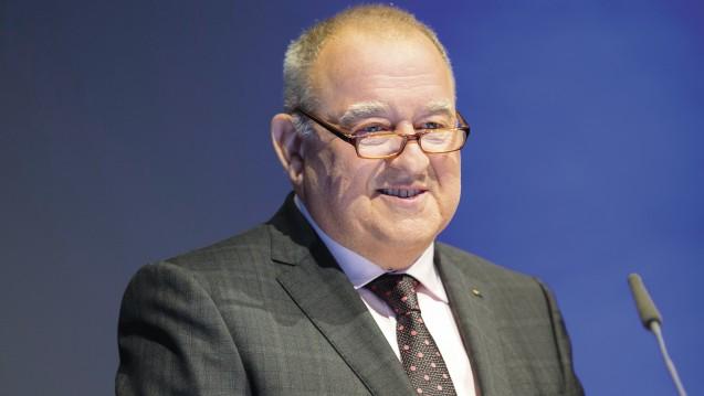 DAV-Chef Fritz Becker erwartet, dass Bundesgesundheitsminister Jens Spahn um das Honorar-Gutachten ansprechen wird. (Foto: Schelbert)