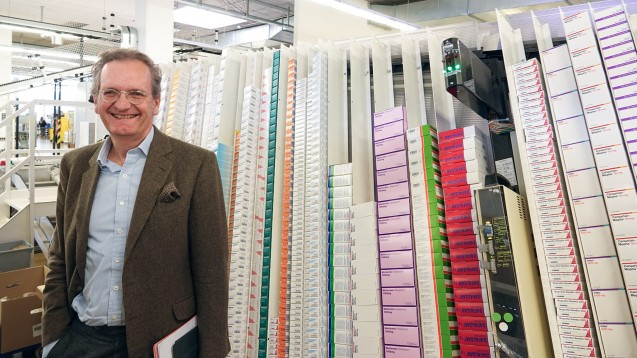 """Zur Rose-Chef Walter Oberhänsli erklärt in einem Interview, dass er unter anderem durch """"Marktbearbeitung"""" den Umsatz seines Konzerns verdoppeln will. (s / Foto: dpa)"""