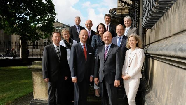 Der Vorstand der SLAK für die Jahre 2015 bis 2019. (Foto: SLAK)