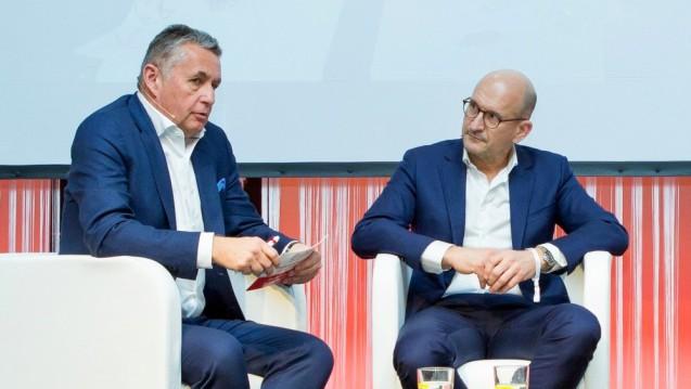 Die Apothekenkooperation Vita Plus von Apotheker Dr. Stefan Hartmann (li.) schließt sich der Apotheken-Initiative ProAvo an. (s / Foto: Melanie Löffler)