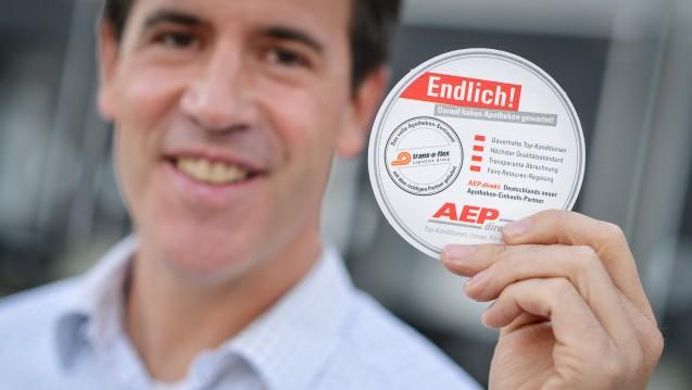 AEP-Chef Jens Graefe kämpft gegen die Wettbewerbszentrale um Skonti für die Apotheker. (Foto: dpa)