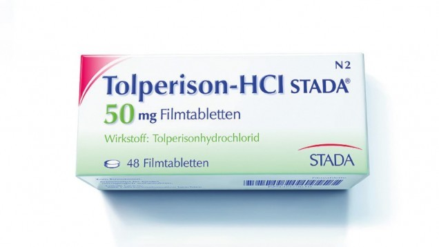 Erneut warnt eine Rote Hand vor dem Off-Label-Einsatz von Tolperison. Seit 2013 darf es nur noch bei Spastizität nach Schlaganfall eingesetzt werden. (s / Foto: Stada)