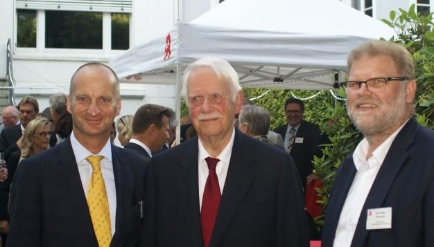 ... ABDA-Präsident Friedemann Schmidt war gut gelaunter Gast. Nun ist er der Gegner ums Präsidentenamt. (Foto: DAZ / tmb)