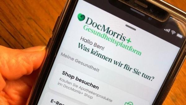 Gesundheitsplattform DocMorris+ gestartet