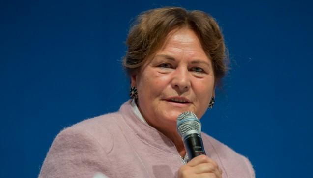 Die gesundheitspolitische Sprecherin der CDU, Maria Michalk, nahm zum ersten Mal am Apothekertag teil.