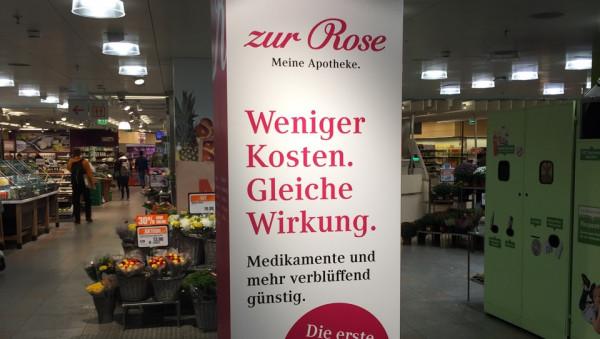 Zur Rose: Exklusivvertrag gegen die freie Arzt- und Apothekenwahl
