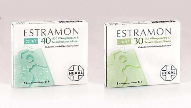 Hexal erkennt die Problematik bei Estramon conti, setzt aber nach eigener Ansicht bereits Maßnahmen um, die die Verwechslung von Hormonpflaster und Trockenmittel-Pad verhindern sollen. (m / Foto: Hexal AG)