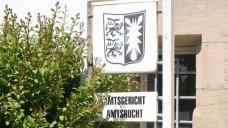 Vor dem Amtsgericht Husum musste sich gestern ein Apotheker verantworten. (Foto: M.-G. Schmitz)