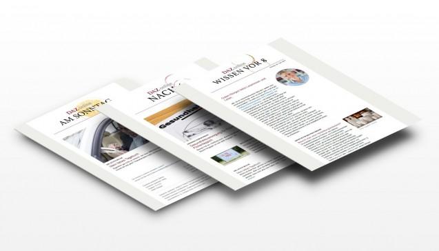 Mit unseren Newslettern halten wir unsere mehr als 17.800 Abonnenten auf dem Laufenden – unter der Woche morgens und abends sowie sonntags.