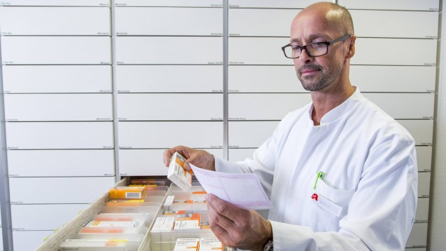 Die Apotheken bekommen die Auswirkungen der Coronavirus-Pandemie deutlich zu spüren: Im Mai sank die Zahl der Rezepte um satte 17 Prozent im Vergleich zum Vorjahresmonat. (Foto: imago images / Jochen Tack)