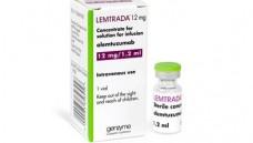 """Alemtuzumab in Lemtrada soll vorerst nur bei hochaktiven RRMS-Patienten eingesetzt werden, die auf mindestens zwei krankheitsmodifizierende Therapien nicht angesprochen haben oder bei denen Kontraindikationen für alternative """"disease-modifying drugs"""" bestehen. (b/Foto: Genzyme)"""