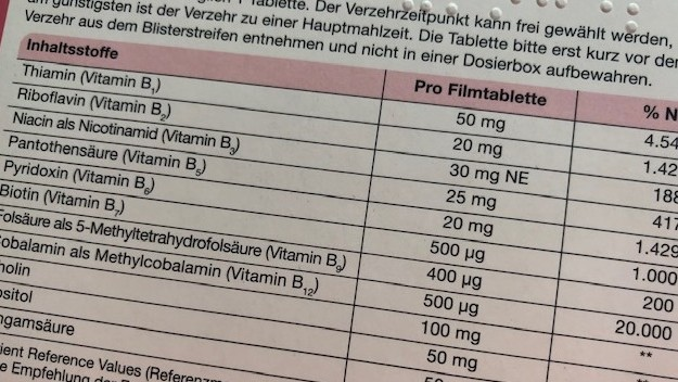 Es gibt viele Nahrungsergänzungsmittel (NEM) mit hochdosiertem Vitamin B12 auf dem Markt. (m / Foto: jb / DAZ.online)