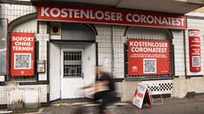 Geschlossenes Test-Center in Berlin. (c / Foto: IMAGO / Emmanuele Contini)