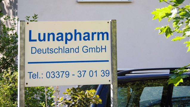 Ein halbes Jahr nach Bekanntwerden der sogenannten Lunapharm-Affäre verliert der Brandenburger Händler seine Herstellungserlaubnis – diesmal offenbar endgültig. (s / imago)
