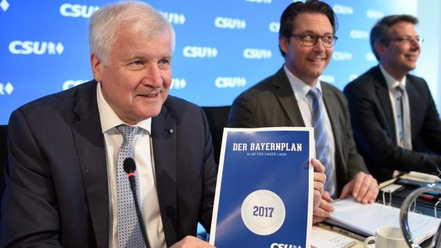 Rx-Versandverbot als Heimat-Anliegen: Im Bayernplan der CSU ist das Rx-Versandverbot in einem Kapitel zur Heimatliebe enthalten. (Foto: dpa)