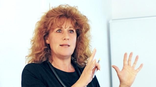 Die Geschäftsführerin des LAV BaWü, Ina Hofferberth (hier auf der Mitgliederversammlung in Stuttgart), würde regionale Regelungen bei der Importquote befürworten. (Foto: LAV)