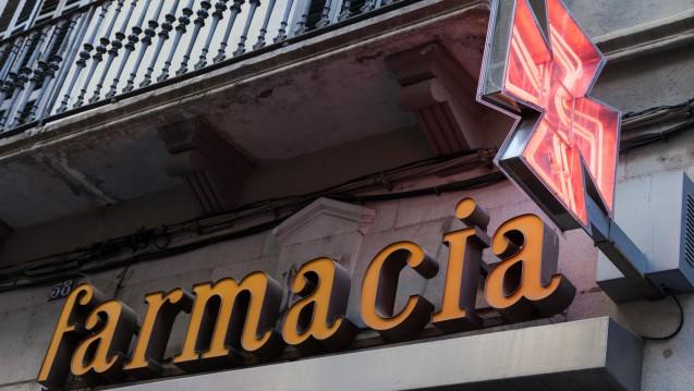 Gute Erreichbarkeit der Apotheken: Im Jahr 2017 gab es in Spanien 47 Apotheken je 100.000 Einwohner.(Foto:philipus / stock.adobe.com)