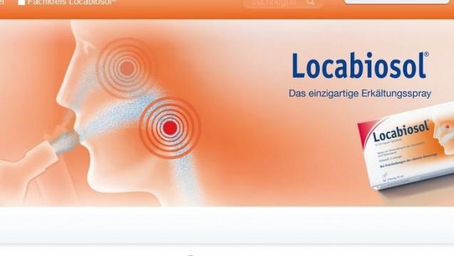 Ab 28.Mai ist Locabiosol nicht mehr verkehrsfähig, meldet das BfArM- (Foto: Screenshot / DAZ)