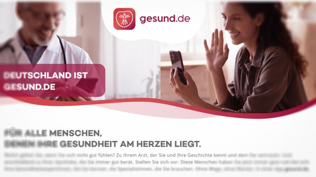 (Screenshot gesund.de)