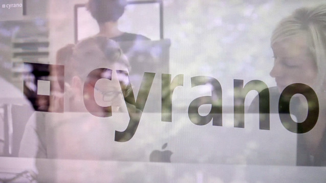 (Screenshot: cyrano-Homepage)