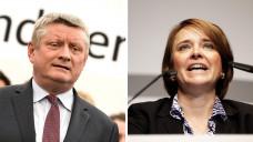 Die Leitung des Bundesgesundheitsministeriums könnten entweder erneut Hermann Gröhe (CDU) oder seine Staatssekretärin Annette Widmann-Mauz (CDU) übernehmen. (Foto: Imago)