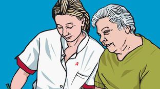 Eine Patientin mit Ulcus ventriculi