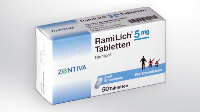 Beim Großhandel ist Ramlich 5 mg derzeit kontingentiert. (Foto: Sanofi)