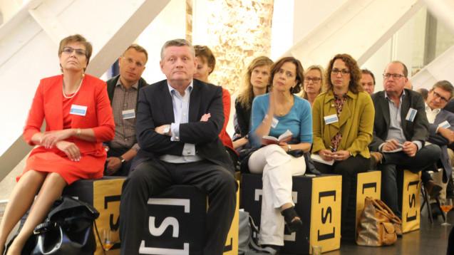 Gröhe besuchte auf seiner Sommerreise mit Journalisten auchDigital-Start-ups. (Foto: BMG)