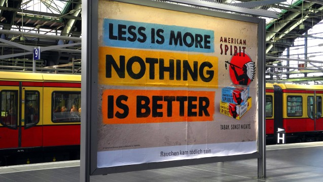 Keine Werbung mehr für Tabak in der Öffentlichkeit. Das will die Drogenbeauftragte der Bundesregierung, Marle Mortler (CSU), erreichen. (Foto: Imago)