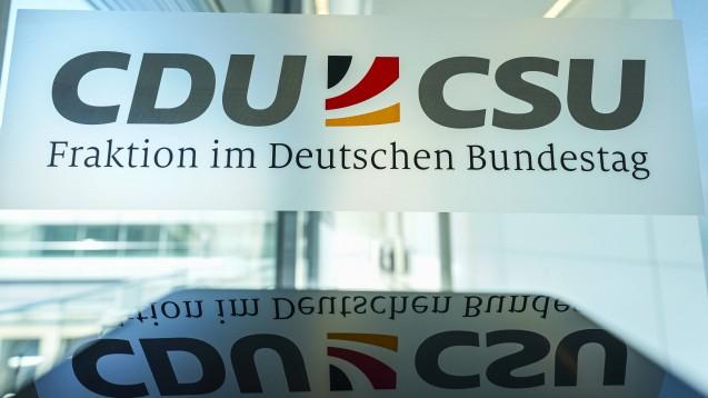 CDU und CSU haben ihr gemeinsames Programm für die Bundestagswahl 2021 beschlossen. (Foto: IMAGO / Political-Moments)