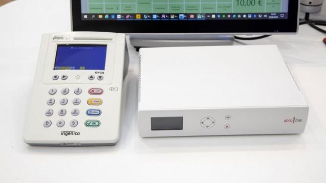 Die Kocobox ist der erste Konnektor, der jetzt zum E-Health-Konnektor aufgerüstet werden kann. (c / Foto: Schelbert)