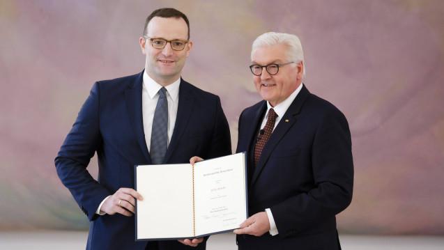 Der CDU-Politiker wurde am heutigen Mittwoch als Bundesgesundheitsminister vereidigt. (Foto: Imago)