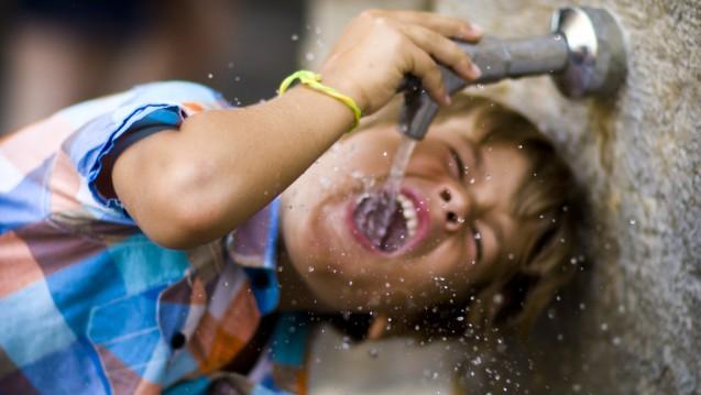 Wer schwitzt, der muss auch trinken. Genügt Leitungswasser? (b /Foto:MurielleB / stock.adobe.com)