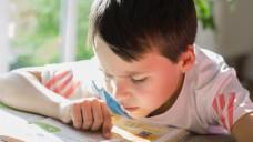 Ein Junge macht Hausaufgaben: Forscher haben für eine Cochrane-Review untersucht, ob Methylphenidat Kindern mit ADHS helfen kann. (Foto: S. Kobolt - Fotolia)